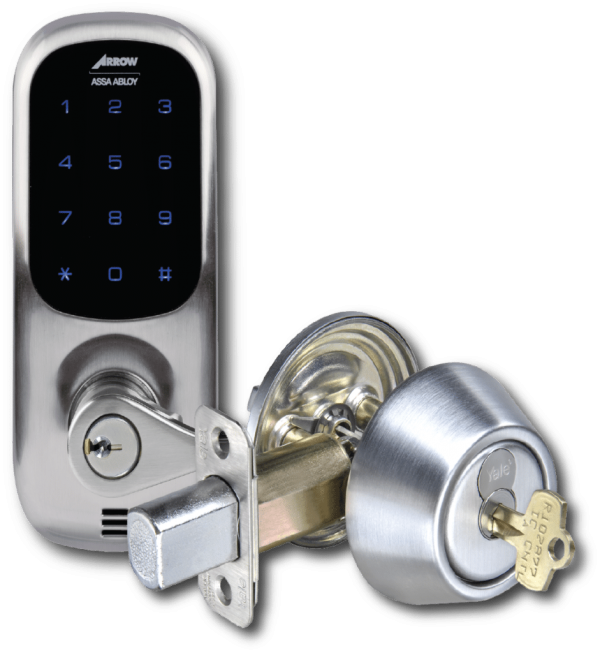 electronic keyless keypad access control